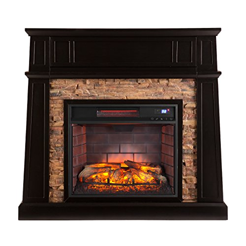 - Southern Enterprises Crestwick Infrared Media Fireplace 44