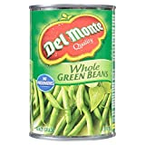 Del Monte Whole Green Beans, 398 ml, Pack of 24