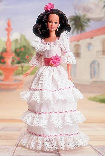 Mattel Barbie Puerto Rican Collector Vintage Dotw Dolls of the World