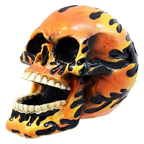Diablo Chopper (Ebros Gift Ghost Rider Flame Hot Rod Skull Figurine 5.75