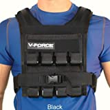Weight Vest 40 Lb V-Force Basketball (Black)