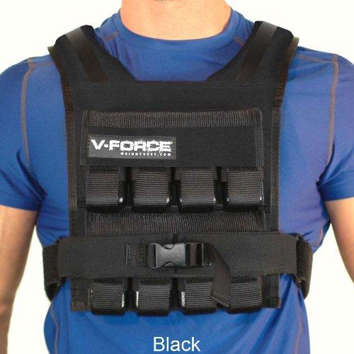 Weight Vest 40 Lb V-Force Basketball (Black)