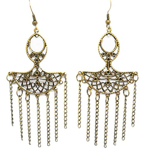 1set vogue jewelry women girl elegant cute chain dangle earrings