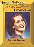 Jeanette MacDonald Autobiography, Sharon Rich, 0971199884