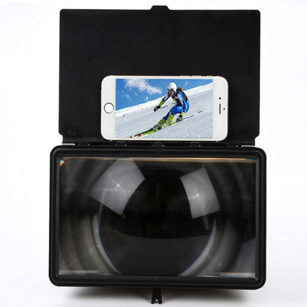 George zhang New 12-inch Telescopic Anti-Reflective Multi-Function Mobile Phone 3D HD Creative Mobile Phone Screen Amplifier