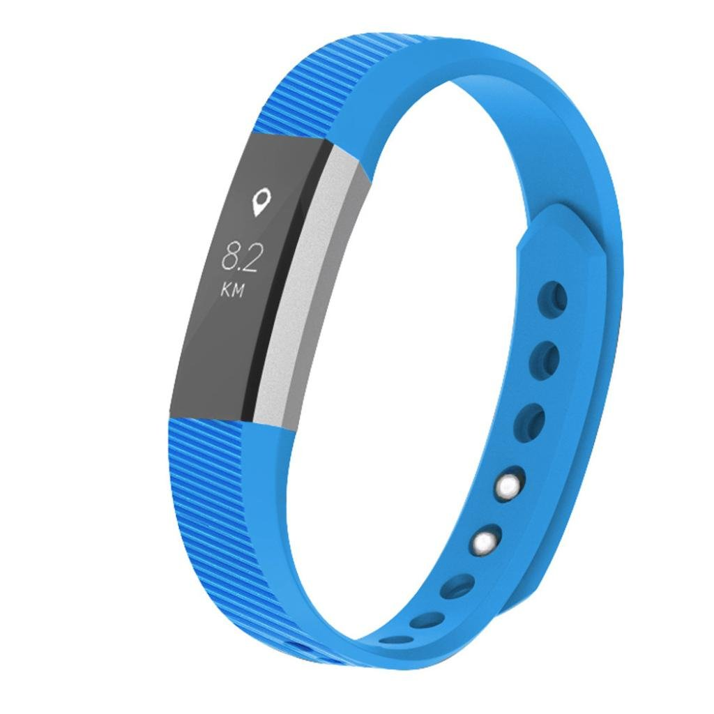 SUKEQ for Fitbit Ace for Kids Bands, Soft TPU Sports Replacement Strap Ultrathin Wristbands Accessories for Fitbit Ace, Fits for 5.5-6.7inches (Black)