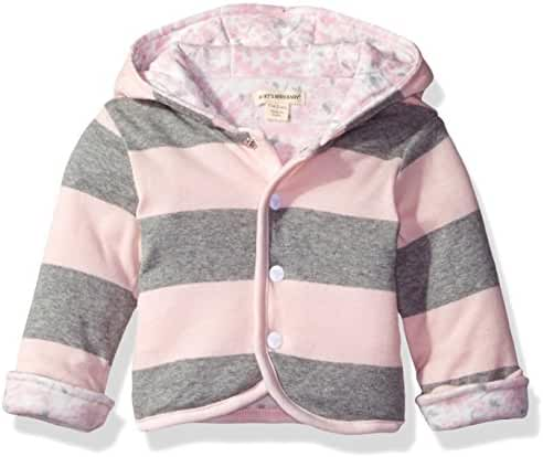 Burt's Bees Baby Girls' Organic Reversible Snap Front Jacket