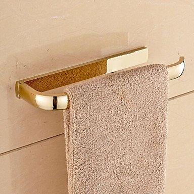 Modern Bathroom金メッキ真鍮バスルームタオルラック B074M98WXX