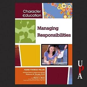 Managing Responsibilities Audiobook