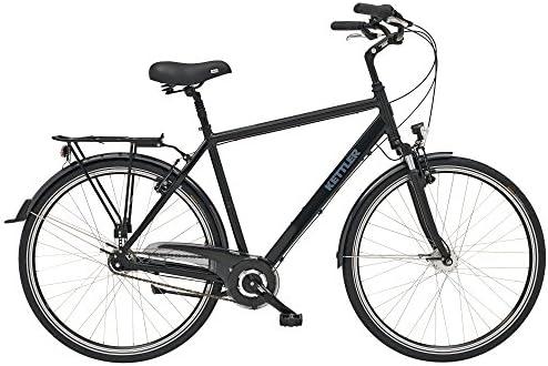 Kettler City Cruiser - Bicicleta de Paseo para Hombre, Talla M (165-175 cm), Color Gris: Amazon.es: Deportes y aire libre