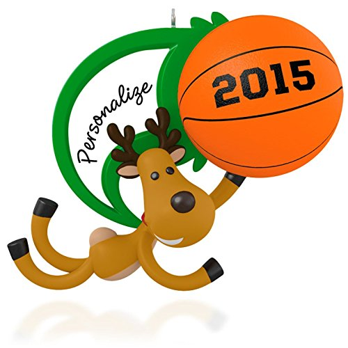 Basketball Personalized Ornament 2015 Hallmark product image