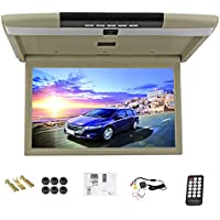 Car Monitor 15 Inch flip down monitor Display LED digital screen Car Roof Mounted Monitor car ceiling monitor