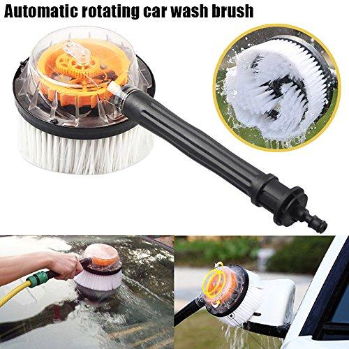 rokoo Strumenti di pulizia rotante di auto di pulitore per tubo di laveuse di pressione rotatoire di spazzola di lavaggio