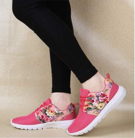 Sneaker In Stampato Da Sportive Mesh Pizzo Traspirante Vulcanizzate Scarpe Casual Donna Sneakers Ysfu SwPgdqq