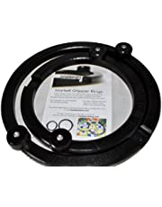 """Martelli Gripper Rings - 8"""" and 11"""" Free Motion Quilting Hoop Set - Made in the USA"""
