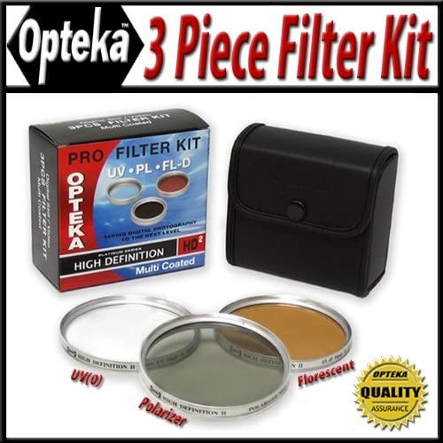 Amazon Com Opteka Hd2 Filter Kit For Sony Handycam Hdr Ux1 Ux10 Ux20 Sr1 Hc62 Hc52 Hc96 Hc3 Dcr Sr42 Sr45 Sr65 Sr85 Sr220 Sr10 Camcorder Camera Lens Filter Sets Camera