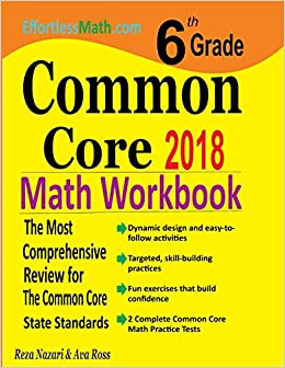 6th Grade Common Core Math Workbook: The Most Comprehensive Review ...