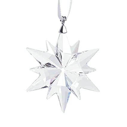 6fbcba0e0 Amazon.com: Swarovski Little Star Ornament 2017: Home & Kitchen