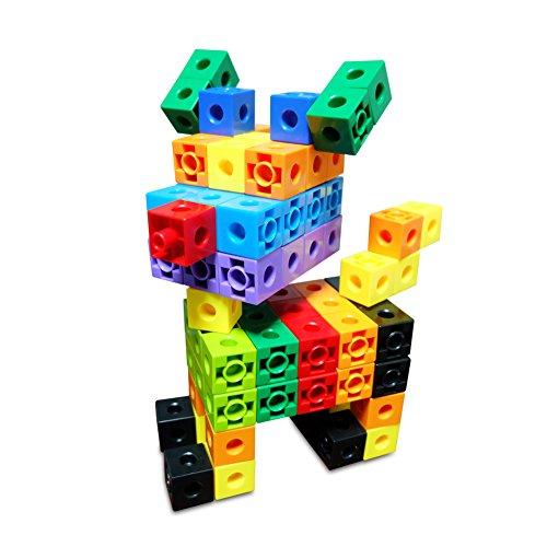 Childmate 150 Piece 10 Colors Snap Cubes Mathlinks Cubes
