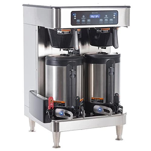 Bunn 51200.0103 ICB Infusion WiFi Capable Twin Coffee Brewer 120/240V, 6000W