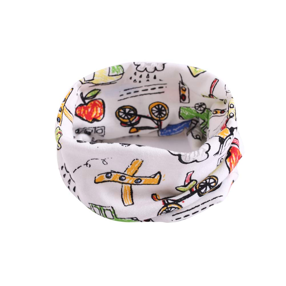 Tenchif Winter Infinity Loop Scarf Neck Warmers for Kids Baby Girls Boys Toddlers