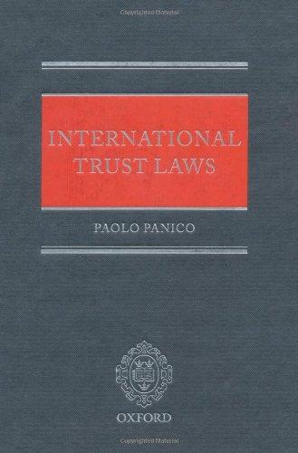 International Trust Laws by Oxford University Press