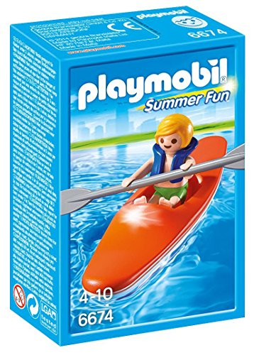 PLAYMOBIL Kid with Kayak Playset