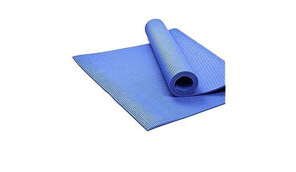 Alfombra de Yoga Mat Fibre4-8mm Azul Respetuoso del Medio ...