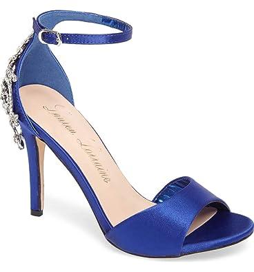3ff96e62b8456 Amazon.com: Lauren Lorraine Monet Royal Blue Satin Crystal ...
