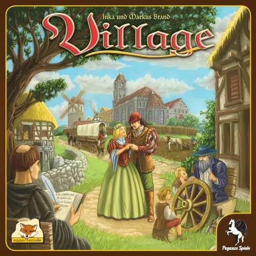 eggertspiele Village Board Game - 2018英語版 B07KQHVPMF