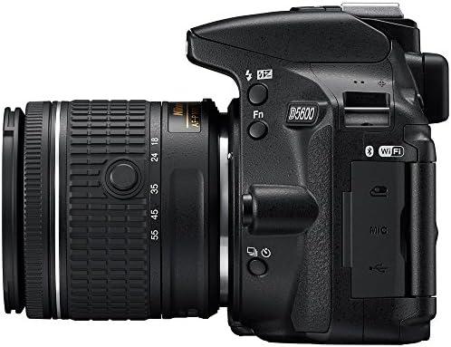 51HrAZv wXL. AC  - Nikon D5600 Digital SLR Camera & 18-55mm VR DX AF-P Lens - (Renewed)