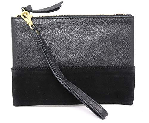 Genuine Leather Wristlet...