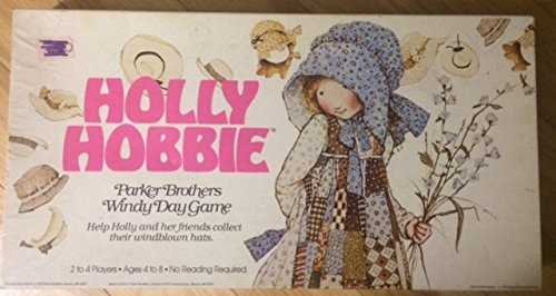 Holly Hobbie Windy Day Game ~ Original 1979 Vintage Parker Brothers from Parker Brothers