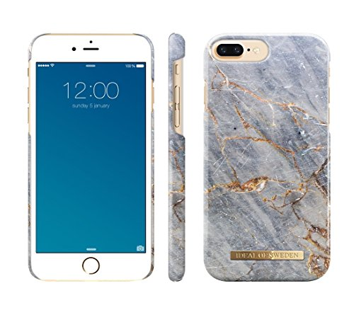free shipping 568a0 ab86d iDeal Of Sweden Royal Grey Marble Fashion Case Design for iPhone 8/7 ...