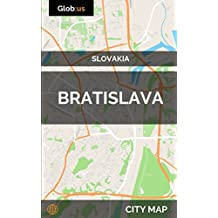 Bratislava, Slovakia - City Map