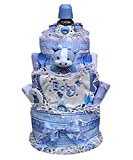Babygiftidea 3 Tiered Diaper Cake- boy