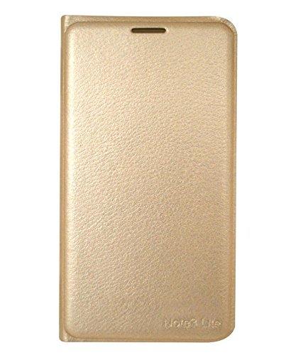 COVERNEW Flip Cover for Coolpad Note 3 Lite   Golden