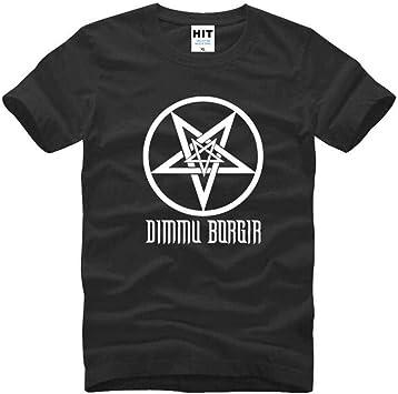 Camiseta de Manga Corta Casual Estampada en 3D para Hombre Camiseta de Algodón con Cuello Redondo Camiseta Sinfónica Death Metal Black Metal Heavy Metal, TBR@AKL, Blanco negro, m: Amazon.es: Bricolaje y herramientas