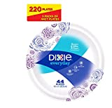 Dixie Everyday Paper Plates, 10 1/16 Inches, 44 Count (Pack of 5)