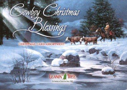 Cowboy Christmas Blessings 20 Christmas Card Assortment #90261 - - Hearth Portfolio