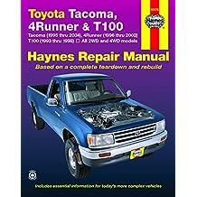 Toyota Tacoma, 4Runner & T100 1993 THRU 2004