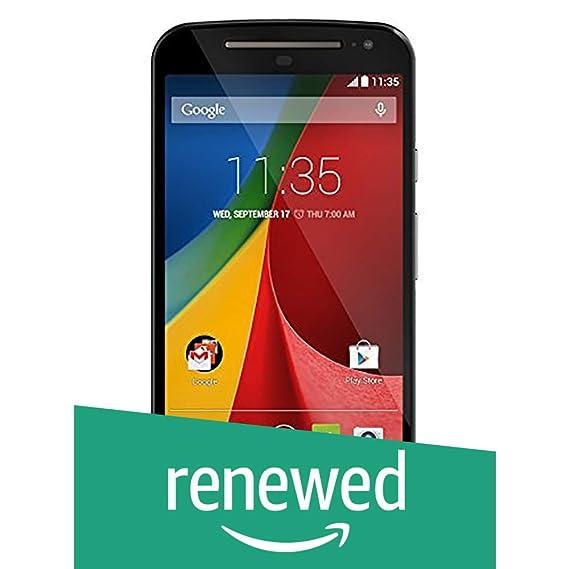 (Renewed) Motorola Moto G XT1068 (Black, 16GB)