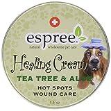 Espree Animal Products Healing Cream: Tea Tree and Aloe, 1.5-Ounce (44 Ml)