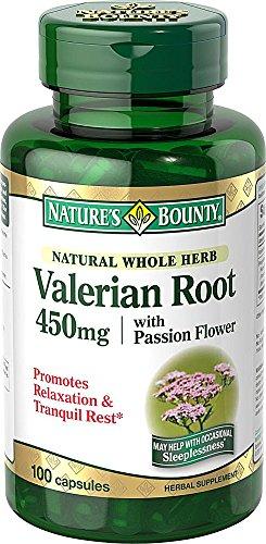Bounty naturel racine de valériane 450 mg Caps Nature, 100 ct