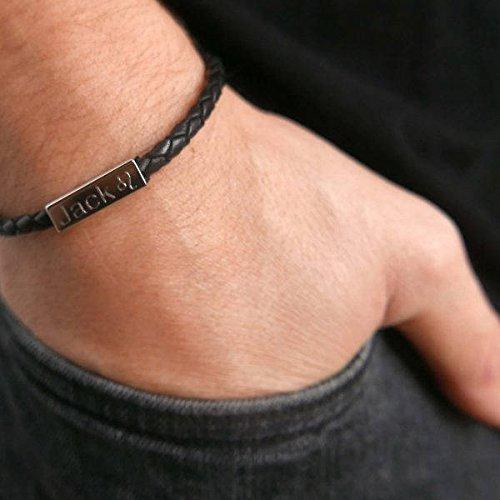 acbef8256fc04 Men s Custom Bracelet - Men s Engraved Bracelet - Men s Personalized  Bracelet - Men s Name Bracelet - Men s Initials Bracelet - Customized Men  Bracelet ...