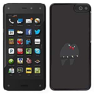 Be-Star Único Patrón Plástico Duro Fundas Cover Cubre Hard Case Cover Para Amazon Fire Phone ( Cute Birds Branch Grey Beak Love )