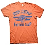 Bobby Boucher Football Camp - Mud Dogs Football T-shirt - Orange