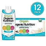 Orgain Vegan Nutritional Shake, Sweet Vanilla Bean, 11 Ounce (Pack of 12)  (Packaging May Vary)