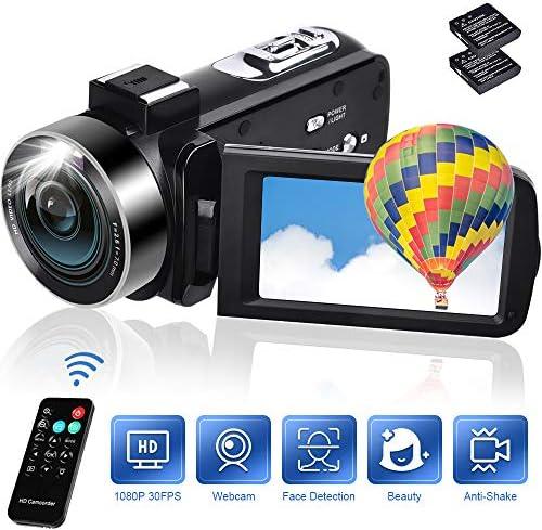 Camcorders Digital Vlogging Camcorder Batteries product image