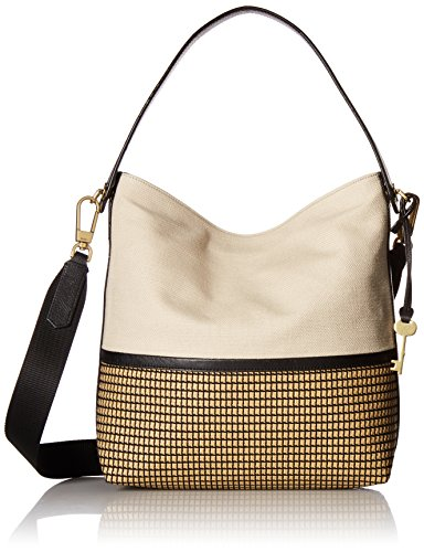 Fossil Maya Small HOBO Handbag, Neutral Multi